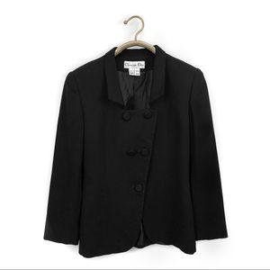Vintage Christian Dior black blazer